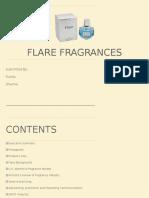 Flare Fragrances Final Ppt