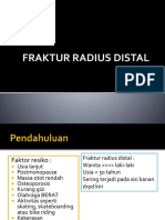 Ppt Fraktur Radius Distal