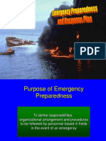 Emergency Preparedness & Response Plan