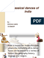The Dance Forms of India