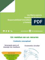 Presentacion LEY REP 20920 Junio 2016