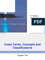 Cost Terms Concepts and Classification