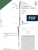 2525-Martinet André - Elementos de Lingüística General
