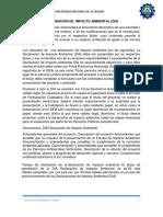 RESUMEN DE DECLARACIÓN DE  IMPACTO AMBIENTAL.docx