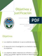 Objetivos y Justificacic3b3n