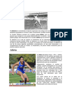 Atletismo e Implementos Deportivos