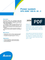 Datasheet - DeLTA Power System DPS 600B-48-2