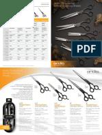 Andis Grooming Shears Catalog