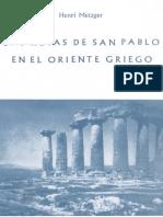 Las Rutas de San Pablo en El Oriente Griego