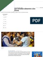 Colombianos Brindan Comida a Los Venezolanos en Cúcuta- ELTIEMPO