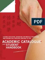 OCTCM Academic Catalogue