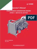 Ee694 Power Generation Engine Cpcb II - 100 Kva & 125 Kva Pub No.m190514-00
