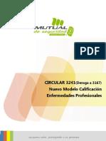 Circular 3241 - Calificación de Enfermedades Profesionales