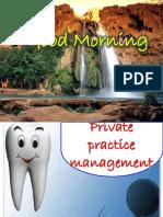 Private Practice Management