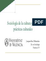 Materials Sociologia de La Cultura