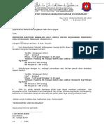 contoh Surat Mohon Bantuan Polis