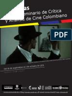 Memorias. Seminario de Crítica y Análisis de Cine Colombiano_FINAL