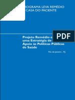 016projeto Remedio Em Casa