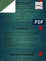 DIAPOSITIVAS MANGANESO