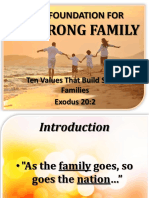 1 the Foundation of a Strong Family - Ex. 20.2