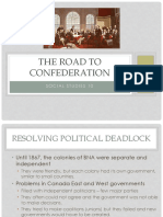 Prelude to Confederation