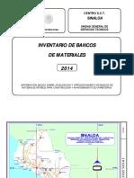 SIN INBM 2014bancos Material