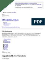Imperdonable, Sr. Castañeda - por Elida Roman