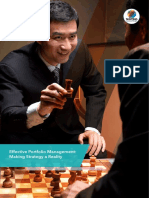 Effective Portfolio Management Making Strategy a Reality