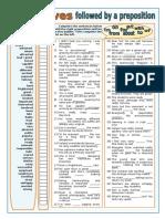 Adjetivos y Preposiciones