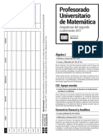 Folleto Matemática