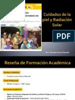 Cuidados de La Piel y Radiación Solar