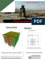 6 - Diseño de Zapatas