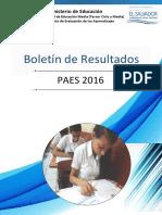 Boletín Informativo PAES 2016 Vf