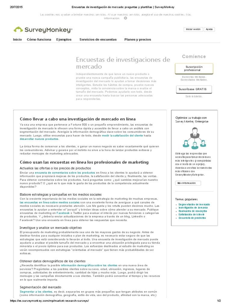 Encuestas de Investigación de Mercado_ Preguntas y Plantillas _ ...