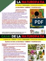 Casas Naturopatia Requerimientos Beneficios
