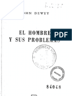 1946 El Hombre y Sus Problemas (J. Dewey)
