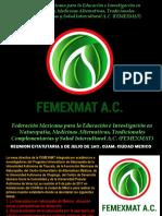 Femexnat Acuerdos y Reunion Tlaxcala Cuam