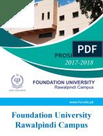 FUI Prospectus 2017-18