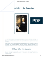 Astrologia Medieval - William Lilly - Os Aspectos