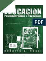 Educacion Posmodernidad y Paradojas