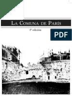 [Ensayo] La Comuna de Paris VVAA. Editorial Klinamen Madrid 2012