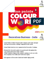 Assesment of Asian Paints Home Solutions