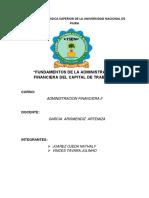 Trabajo Administracion Financiera II