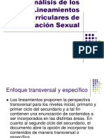 Lineamientos Curriculares de Educ Sexual