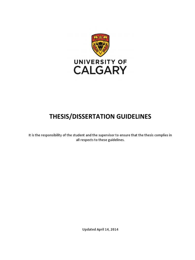 ucalgary thesis binding