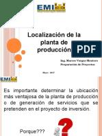 01. Estudio Tecnico - Localizacion de La Planta..Pptx