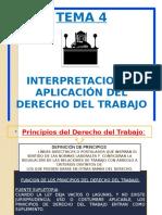 Tema IV Principios Del Derecho Del Trabajo (1)