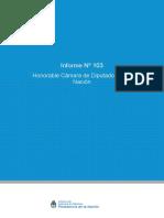 INFORME  103  - HCDN