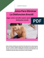 4 EJERCICIOS PARA ELIMINAR LA DESFUNCION ERECTIL