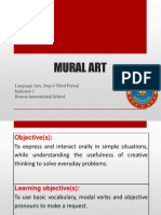 Language Arts - Mural Art